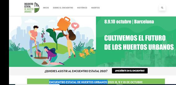 "The city of Sant Feliu del LLobregat hosts the first day of Spain's ""National Meeting of Urban Gardens"" (Encuentro Estatal de Huertos Urbanos)"